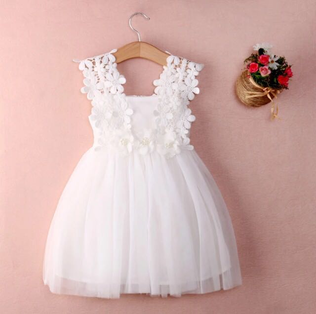 d61596d51e Vestido bautizo blanco encaje