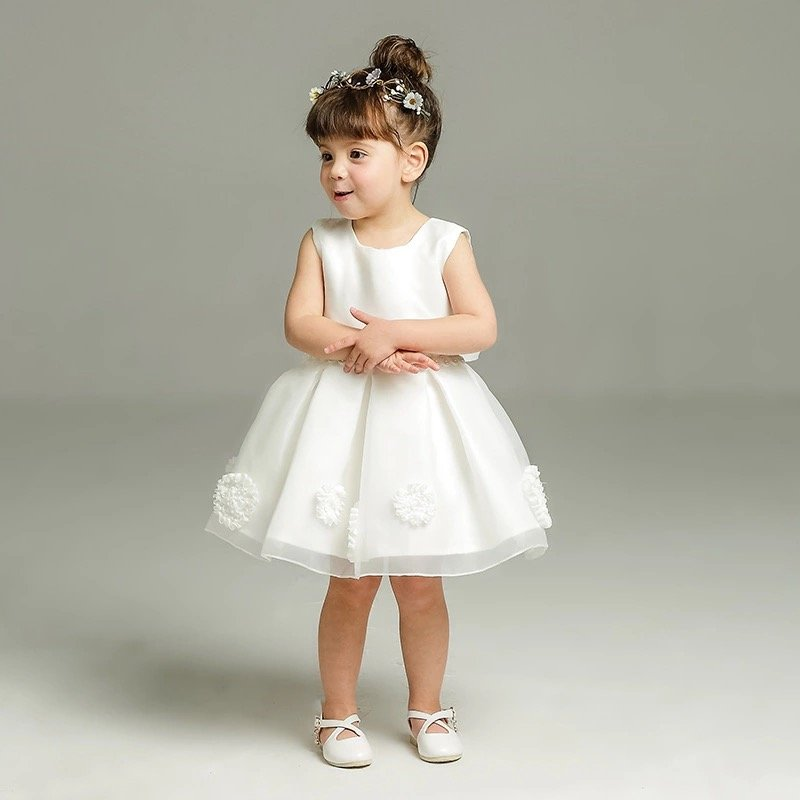 7142a280b4 Vestido para bautizo niña