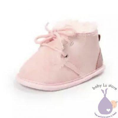 Zapatos invierno rosados