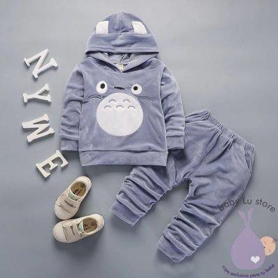 Conjunto gris Plush